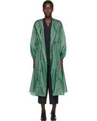 Enfold グリーン ドレス コート