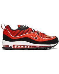 Nike - レッド エア マックス 98 スニーカー - Lyst