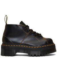 Dr. Martens - Black Church Quad Boots - Lyst