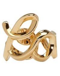 Chloé - Gold Love Ring - Lyst