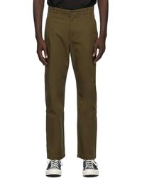 Levi's Pantalon chinos kaki Standard - Multicolore