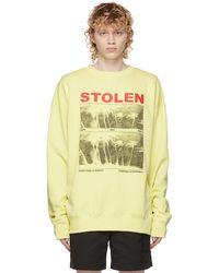 Stolen Girlfriends Club Yellow Isolation Sweatshirt
