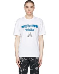 MASTERMIND WORLD White 'be Strong' T-shirt
