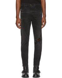 DIESEL - Black D-eetar Jeans - Lyst