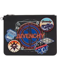 Givenchy ブラック ラージ Patches ポーチ