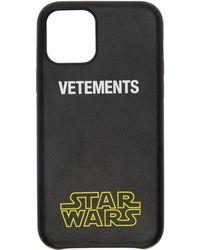 Vetements Star Wars Edition ブラック Iphone 11 Pro ケース