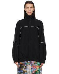 Balenciaga ブラック Double-brushed セーター
