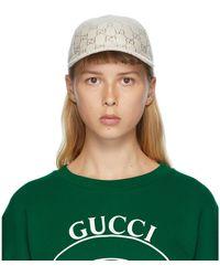 Gucci - GGエンブロイダリー ベースボールキャップ - Lyst