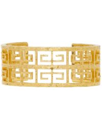 Givenchy - Gold 4g Small Cuff Bracelet - Lyst