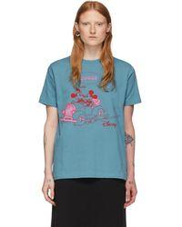 Gucci - Disney Edition ブルー Mickey Mouse T シャツ - Lyst