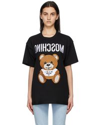 Moschino - ブラック Inside Out Teddy Bear T シャツ - Lyst