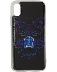 KENZO - Black Tiger Iphone Xand Case - Lyst