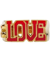 Dolce & Gabbana - Gold Love Ring - Lyst