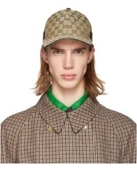 Gucci Casquette de base-ball beige Original GG - Neutre