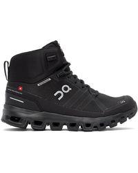 On - Black Waterproof Cloudrock Boots - Lyst