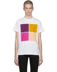 PS by Paul Smith - White Graphic T-shirt - Lyst