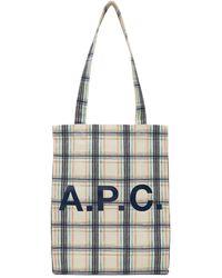 A.P.C. - マルチカラー Lou トート - Lyst