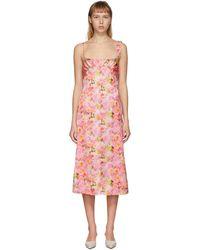 Commission ピンク ブラレット パース ドレス