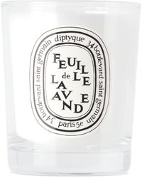 Diptyque Lavender Leaf Small Candle, 70 G - Metallic