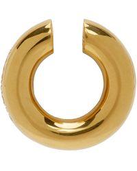 Ambush - Gold Round Earcuff - Lyst