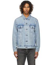 Levi's ブルー Vintage Fit デニム トラッカー ジャケット