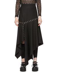 ROKH ブラック スカート