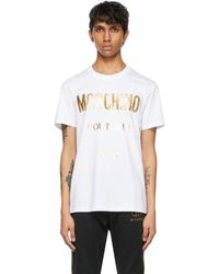 Moschino - ホワイト Couture T シャツ - Lyst