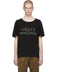 Gucci コットンジャージーtシャツ - ブラック