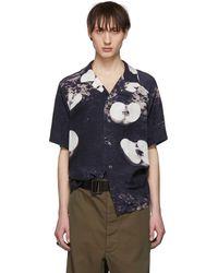 Christian Dada - Open Collar Shirt - Lyst