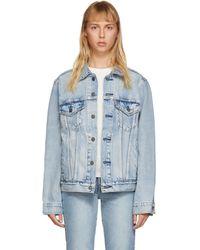 Levi's Blue Vintage Fit Trucker Denim Jacket