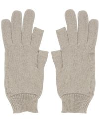 Rick Owens - Off-white Texting Gloves - Lyst