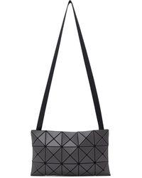 Bao Bao Issey Miyake Gray Lucent Messenger Bag