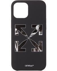 Off-White c/o Virgil Abloh Black & White Carav Arrow Iphone 12 Pro Max Case