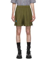 Han Kjobenhavn Khaki Nature Shorts - Green