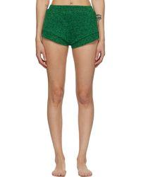 Oséree Green Lumiere Shorts