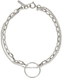 Justine Clenquet - Silver Lina Choker - Lyst