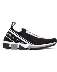 Dolce & Gabbana - ブラック & ホワイト Sorrento スニーカー - Lyst