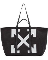 Off-White c/o Virgil Abloh Black Arrows Tote Bag