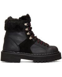 Won Hundred - Black Mila Tracking Boots - Lyst