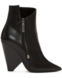 Saint Laurent - Black Niki Boots - Lyst