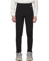 Balenciaga Black Track Lounge Pants
