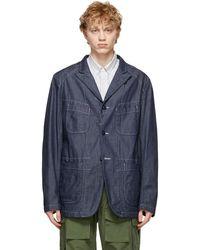 Engineered Garments - ブルー Bedford ジャケット - Lyst