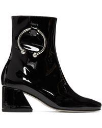 Dorateymur - Black Patent Nizip Boots - Lyst