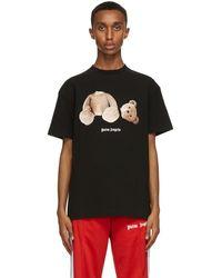 Palm Angels T-shirt noir Bear
