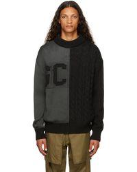 Gcds ブラック ロゴ セーター