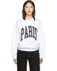 Noon Goons ホワイト Paris スウェットシャツ