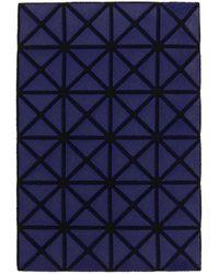 Bao Bao Issey Miyake ネイビー Oyster カード ケース - ブルー
