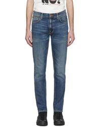 Nudie Jeans - ブルー Lean Dean ジーンズ - Lyst