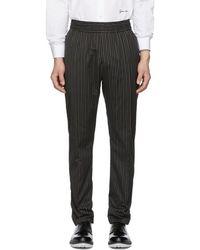 Givenchy - Pantalon raye noir - Lyst
