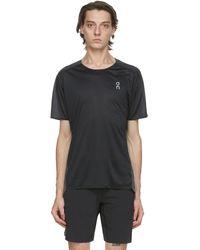 On Black Performance T-shirt